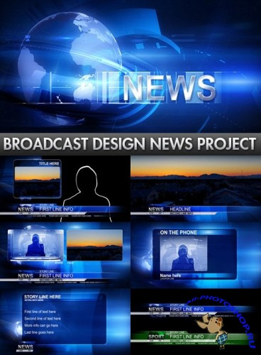 Videohive - Broadcast Design News Package