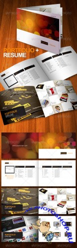 GraphicRiver - Portfolio + Resume Brochure 8 Pages