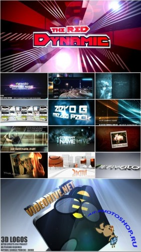 18 Project Pack for After Effects Vol.16 (Videohive)