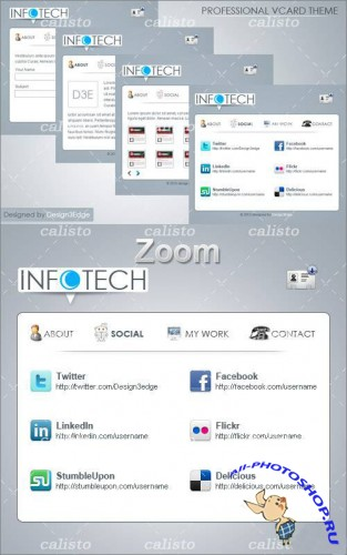 Professional vCARD Theme - GraphicRiver