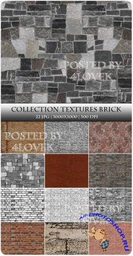 Collection Textures Brick