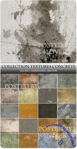 Collection Textures Concrete