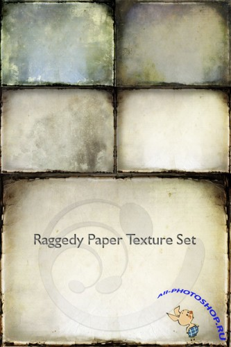 Raggedy Paper Texture Set