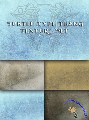 Subtle Type Thang Texture Set