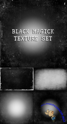 Black Magick Texture Set