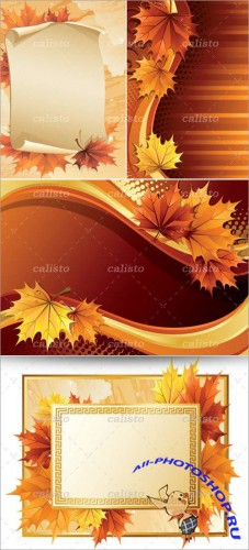 Maple Leaf Vector Background Pack