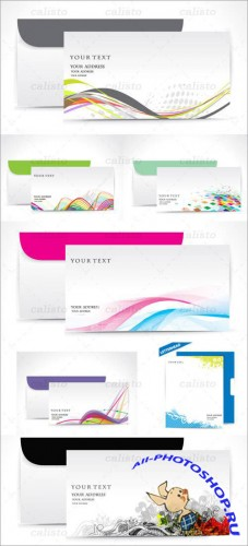Fine Business Envelopes Vector Pack