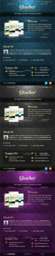 Elegant Facebook Page Template - GraphicRiver