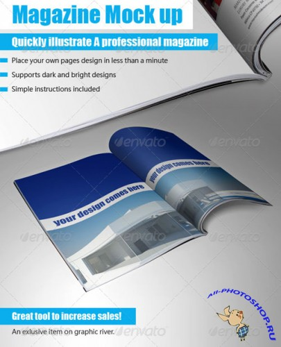 GraphicRiver - Booklet Mock Up Tool