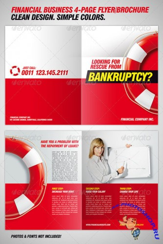 GraphicRiver - Bankruptcy Flyer / Financial Brochure Template