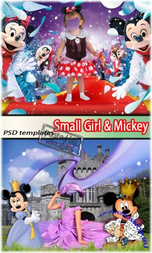 Девочка с Микки | Small Girls & Mickey (PSD costumes)