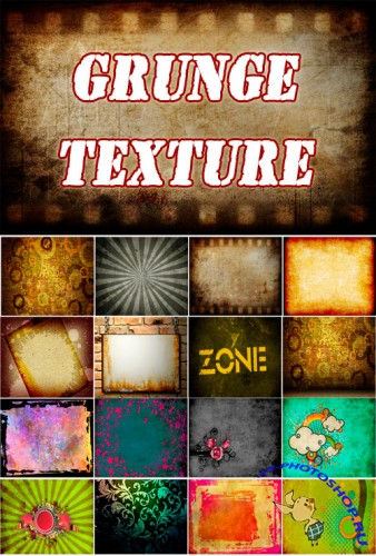 HQ grunge backgrounds pack