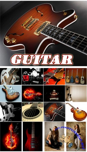 Guitar - Rastr Cliparts