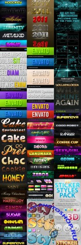 GraphicRiver - Photoshop Styles Collection (Pack 2)