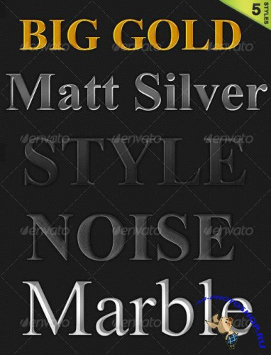 GraphicRiver - 5 Styles Pack