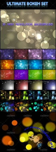 GraphicRiver - Ultimate Bokeh Set 30 High-Resolution Bokeh Backgrounds
