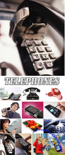 Telephones - Rastr Cliparts