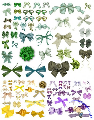 PNG Clipart - Bows and Ribbons