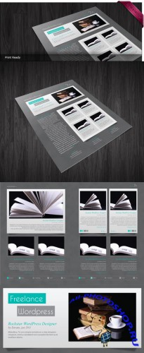 Newsletter InDesign Template - Argos