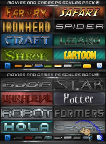 Movies and Games Styles