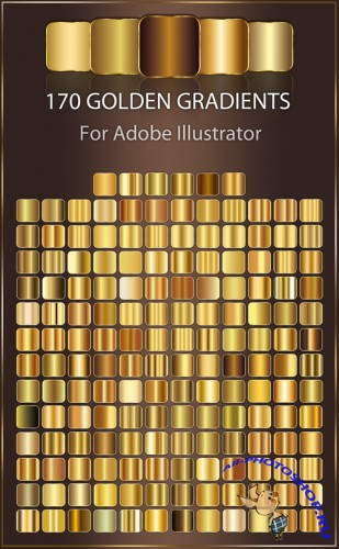 Golden Gradients for Adobe Illustrator