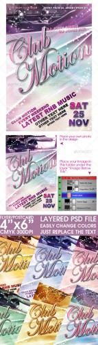 GraphicRiver - Flyer/Post Card Template
