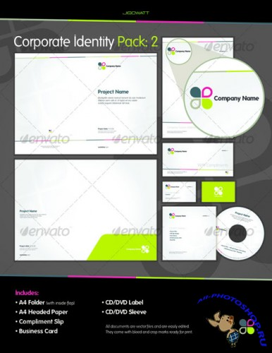 GraphicRiver - Corporate ID: Pack 2