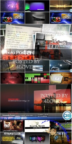 VideoHive Projects Pack 4