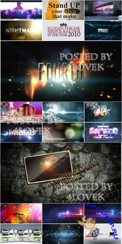 VideoHive Projects Pack 6