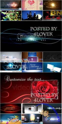 VideoHive Projects Pack 5