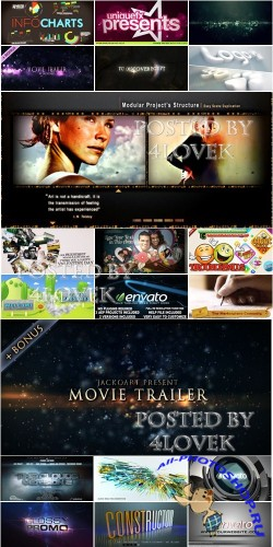 VideoHive Projects Pack 8