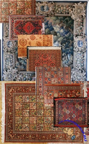 Textures - Persian carpets