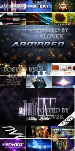 VideoHive Projects Pack 9