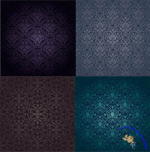 Dark Background Template � Vector Pack