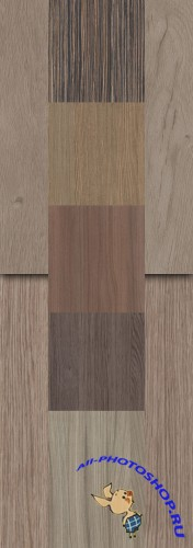 A set of gray wood texture