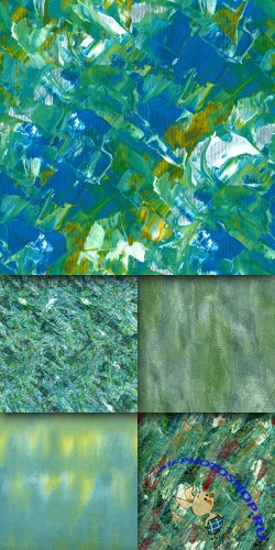 A set of textures celadon