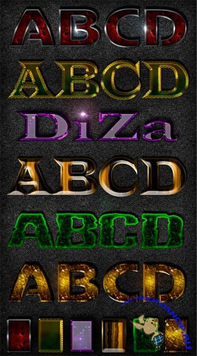 Text styles by Diza - 4