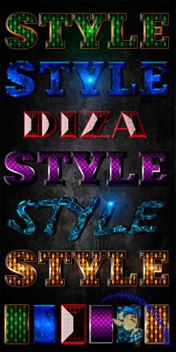 Text styles by Diza - 5
