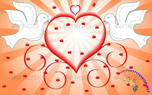 GraphicRiver - Love Vector Illustration