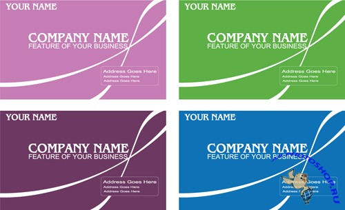 Simple And Elegant Business Card Templates