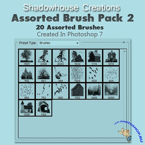 Assorted Brush Pack 2
