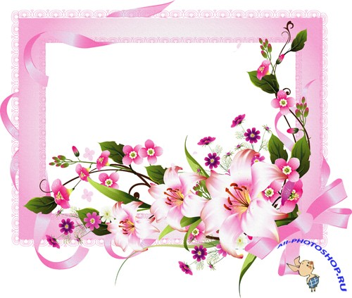 Photo Frame - Beautiful flowers