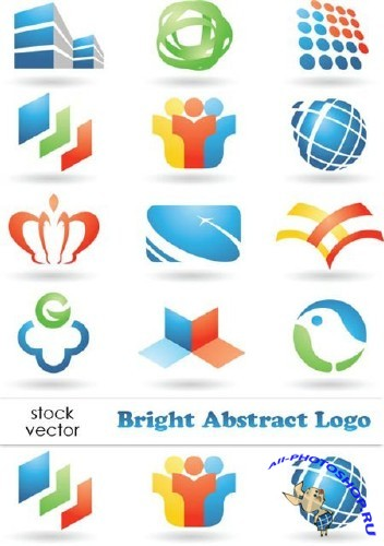 Vectors - Bright Abstract Logo