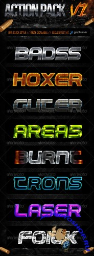 GraphicRiver - Action Style Pack V1
