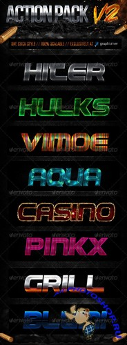 GraphicRiver - Action Style Pack V2