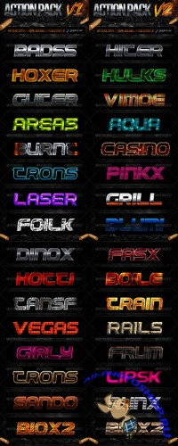 GraphicRiver - Action Style Pack Collection