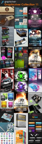 GraphicRiver - Super Collection Design Templates (Pack 11)