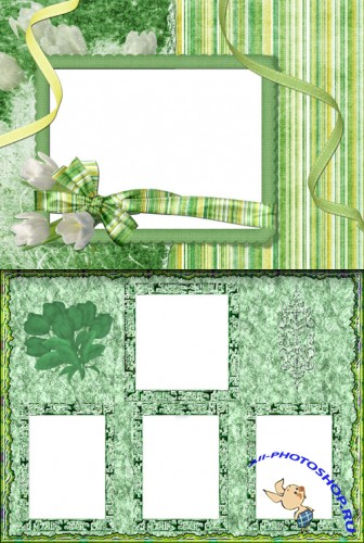 Photo Frame - Spring Bouquet