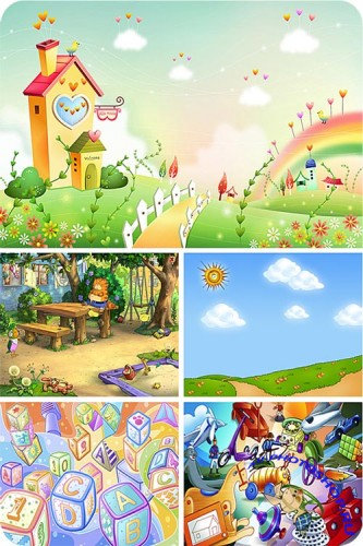 ������� ��������� ���� / Children's backgrounds