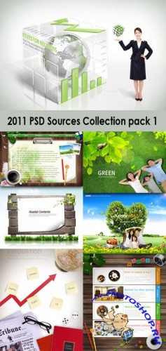 2011 PSD Sources Collection Pack 1